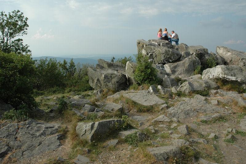 Brunhildisfelsen auf dem Großen Feldberg