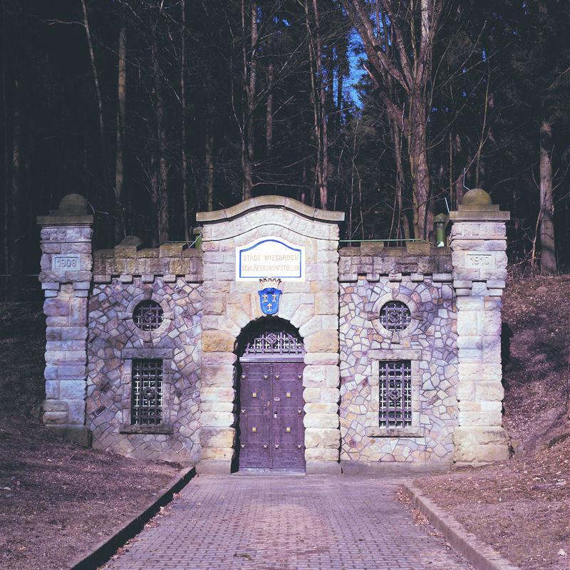 Portal des Schläferskopfstollens