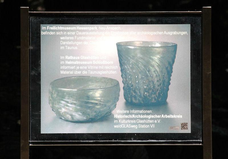 Informationstafel zur Dauerausstellung
