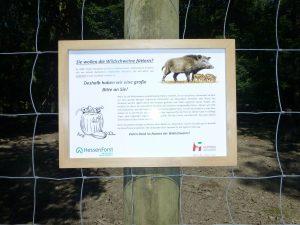 Information von Hessen Forst und der Stadt Hofheim