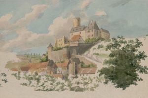 Burg Eppstein um 1823