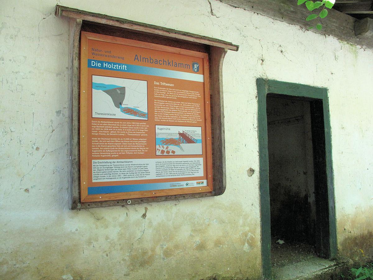 Natur- und Wasserwanderweg Almbachklamm