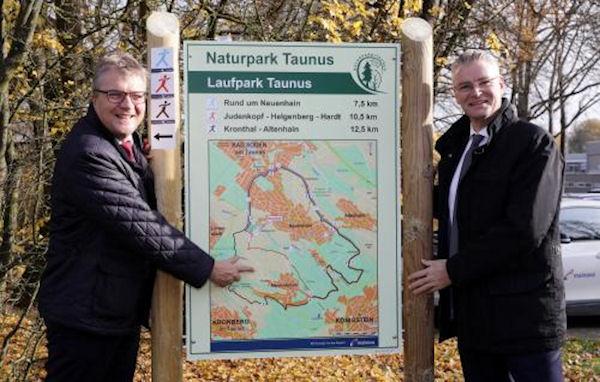 Laufpark Taunus eröffnet