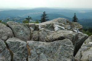 Blick vom Großen Feldberg über den Hintertaunus