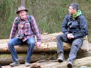 Wolfgang Blum (links) und Robert Carrera