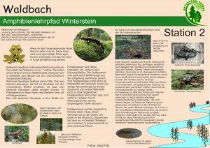 Amphibienlehrpfad Winterstein