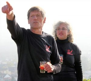 Wolfgang Blum und Leila Emami
