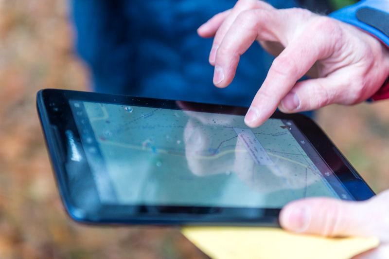 Standortbestimmung mit dem Smartphone