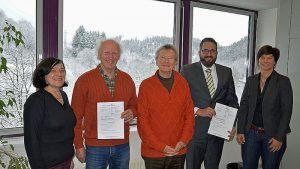 Umwelt Dezernentin Dr. Heidrun Orth-Krollmann (links)