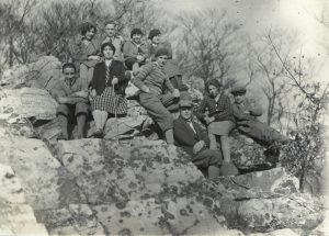 Wandergruppe, 1928