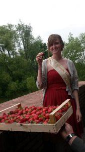 Erdbeerkönigin Marie I