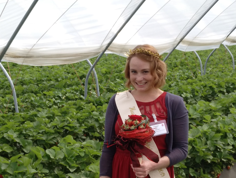 Erdbeerkönigin Nicole I
