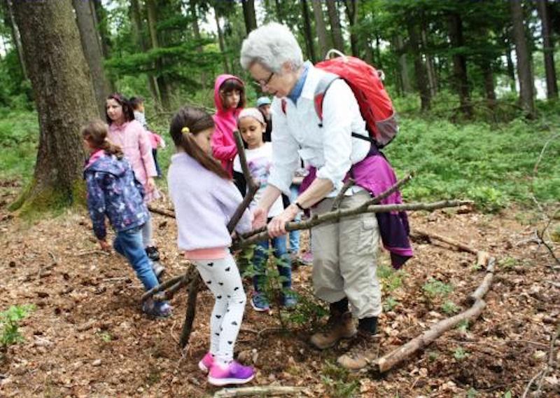 Stadtkinder im Wald