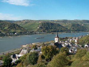 Oberes Mittelrheintal bei Lorch
