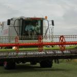 Erntezeit: Landwirte schicken ihre Mähdrescher aufs Feld