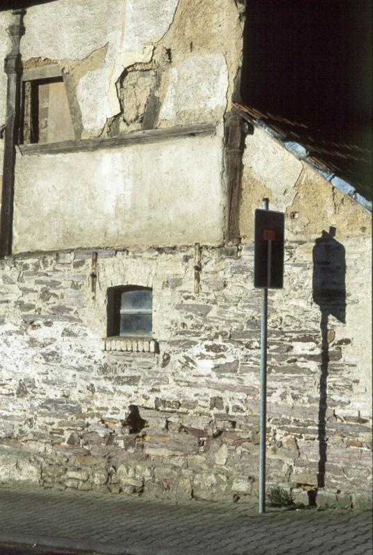 Mauerwerk aus den Bunten Schiefern
