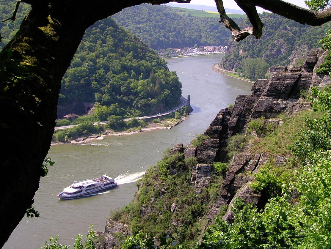 Felsen am Mittelrhein