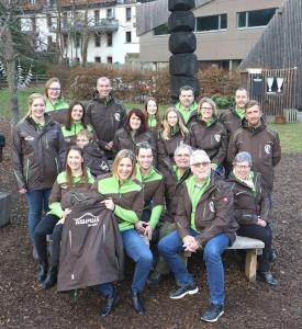 Mitarbeiterinnen und Mitarbeiter von Taunus Touristik Service