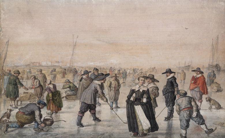 Kleine Eiszeit 1608