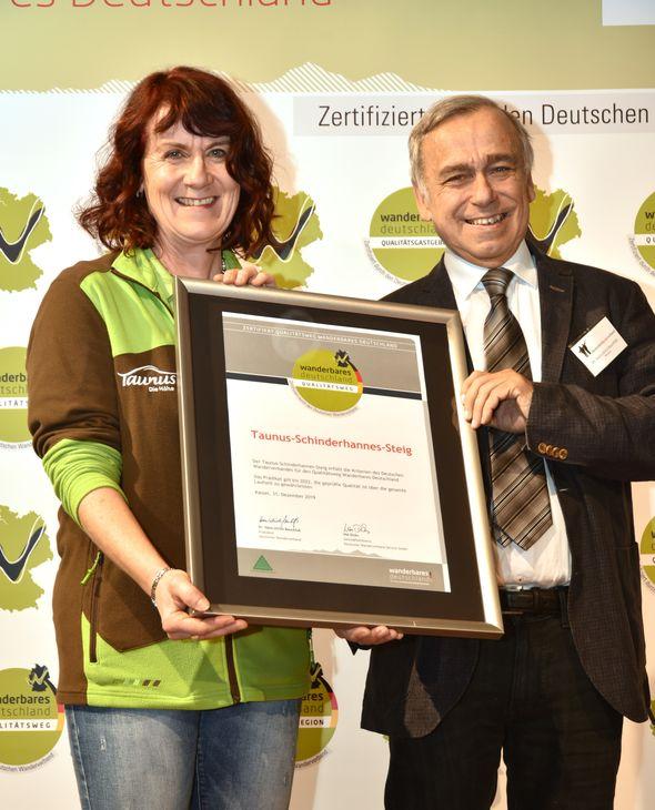 Corinna Schmidt und Dr. Hans-Ulrich Rauchfuß